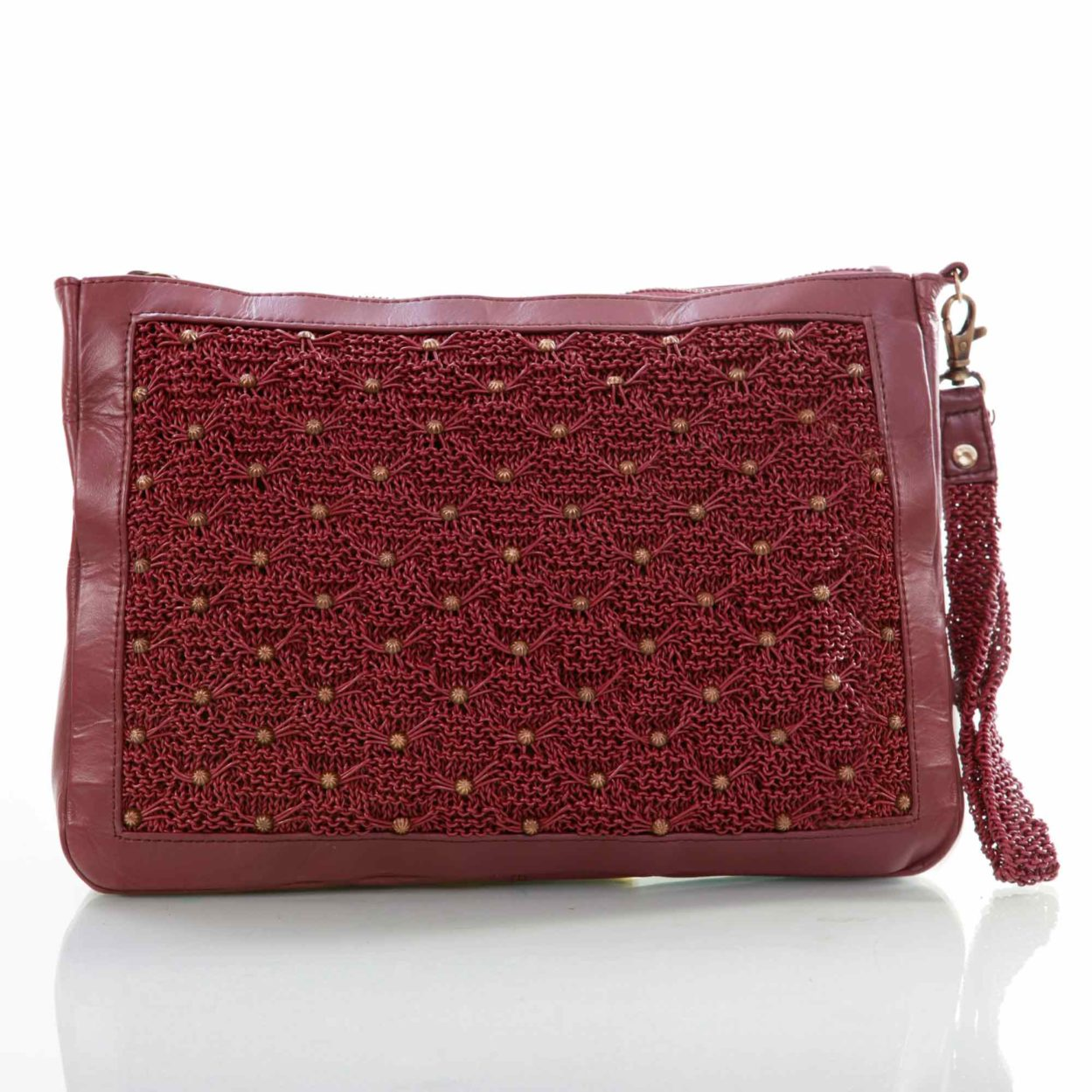 Vivienne carry-all pouch/fuschia