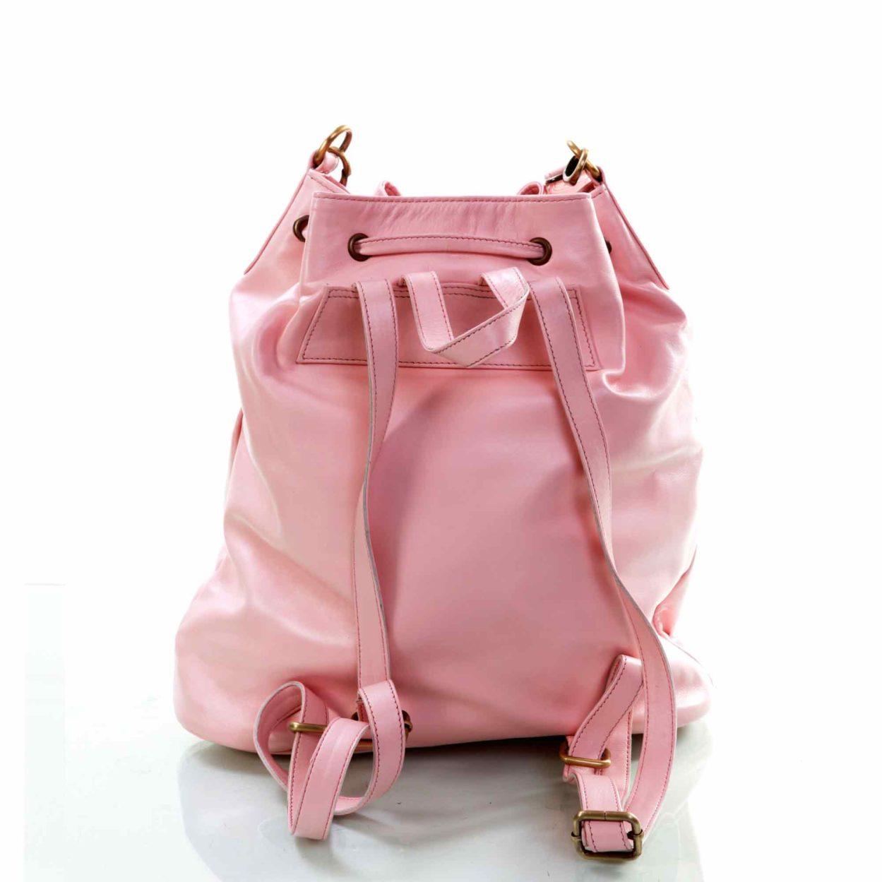 Pink Bubble Bucket Bag